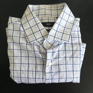 Hugo Boss Men's Button Down Dress Shirt 16.5